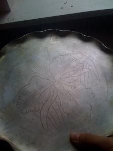 grandma Leep's pie plate
