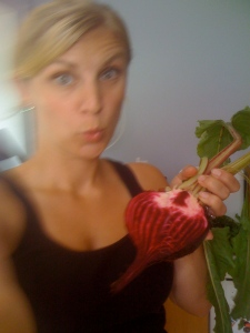 must be my Lithuanian heritage that gives me an affinity for beets!