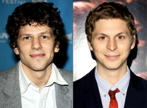 eisenburg left, cera right- these guys even look alike.