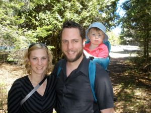 when I wasn't preaching we got to enjoy some time hiking as a family