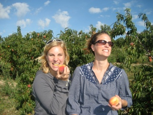 even gluttony with fruit can be a bad thing as my sister & I recently learned.