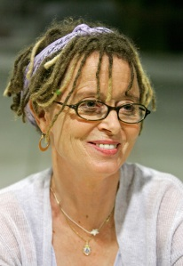 "Anne Lamott, one of my writing inspirations. Her book ""Bird by Bird"" on writing is so great."